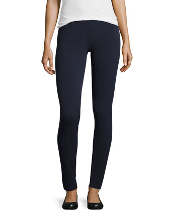 Jersey Leggings, Navy