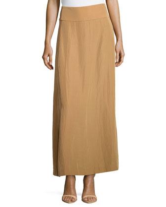 A-line Maxi Skirt, Musk