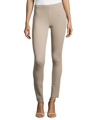 Pull-On Skinny Pants, Khaki