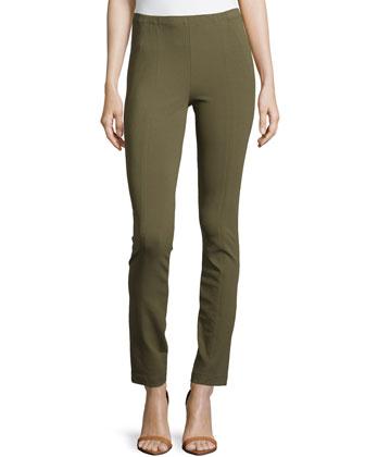 Center-Seam Legging Pants, Juniper