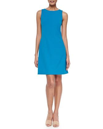 Jemania Sleeveless Dress W/ Cutout Back