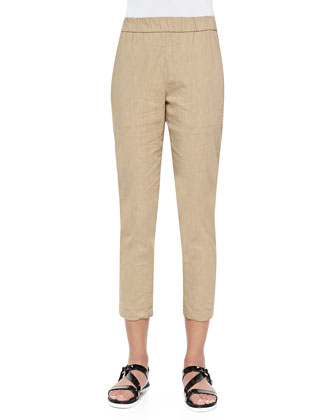 Korene Pull-On Tapered Pants