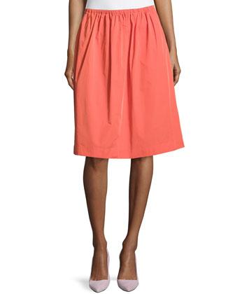 A-line Full Skirt, Dark Fire