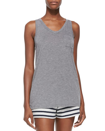 Racerback Pocket Tank