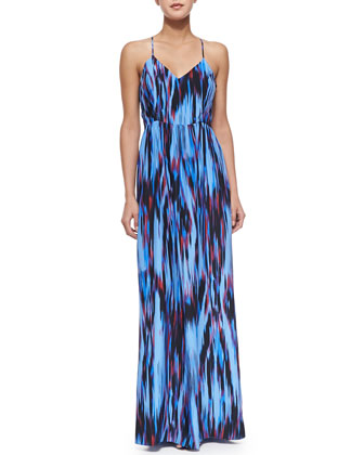 Miles Maxi Dress with Cutout Back