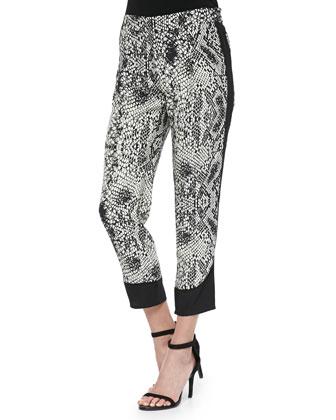 Darryl Viper Printed Combo Pants