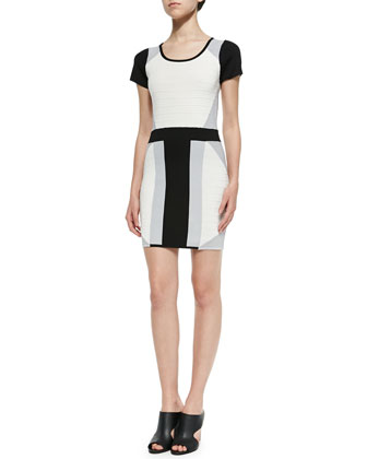Rizzo Colorblock Knit Dress