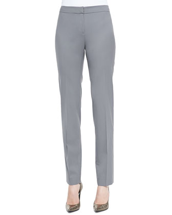 Crosby Straight-Leg Pants, Lead
