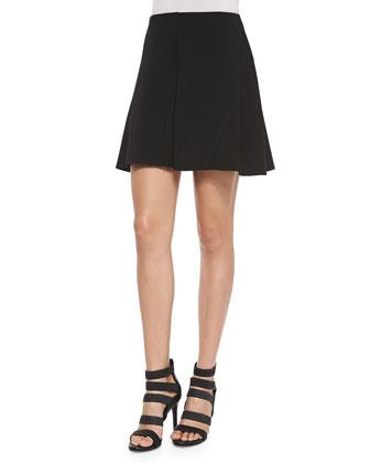 Seferina A-Line Ponte Skirt