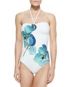 Persica Bandeau One-Piece Swimsuit