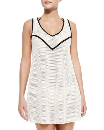 A-Line Crochet Beach Dress