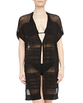 Dawson Mesh Open Coverup