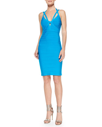 Lucee Cutout Bandage Dress
