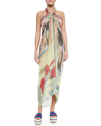 Greetings Convertible Pareo Coverup