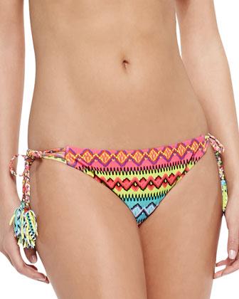 Bayamo Printed Cap-Sleeve Rashguard, Vixen Printed Swim Top & Bayama Vamp ...