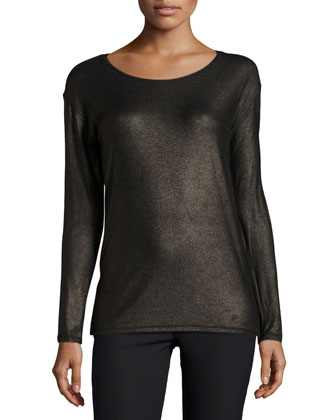 Long-Sleeve Extrafine Top