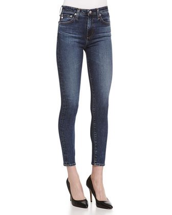 The Brianna High-Waist Skinny Jeans, 07Y Brazen