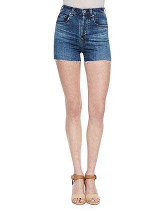 The Fifi High-Waist Shorts