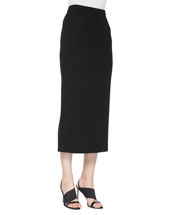 Jamie Long Pencil Skirt, Black
