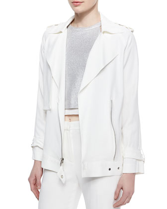 Kral Utility Crepe Suiting Jacket