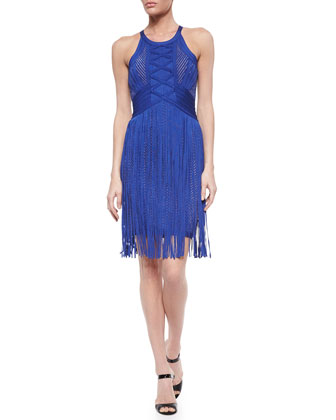 Edyth Braided Fringe Dress