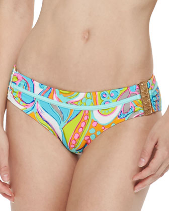 Cosmos Printed Buckle-Side Bottom