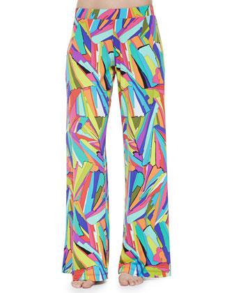 Viva La Vida Twisted Bandeau Top, Bottom & Wide-Leg Pants