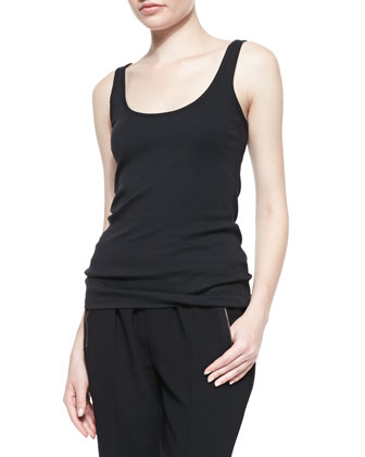 Miadora Sleeveless Knit Tank