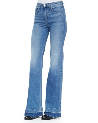 The Justine Wide-Leg Jeans