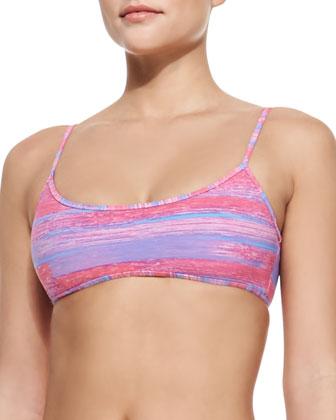 Sam Striped Swim Top & Lexi Striped Swim Bottom