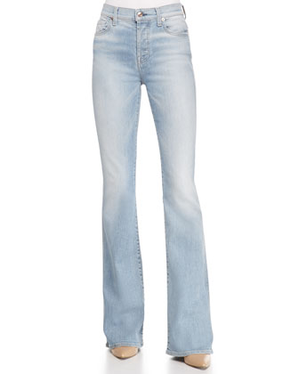 High-Waist Vintage Bootcut Jeans