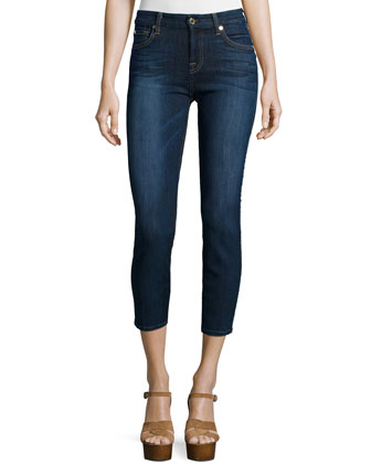 Kimmie Cropped Jeans, Heritage Medium