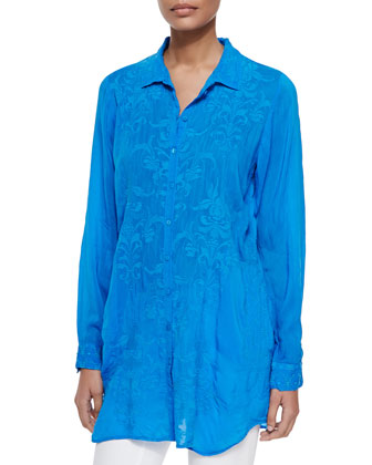 Issy Button-Down Blouse, Women's