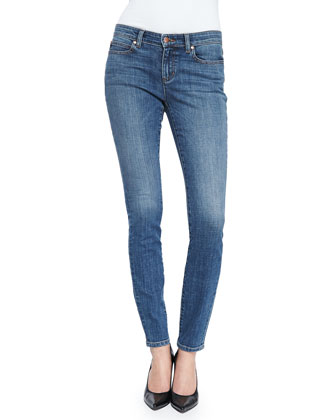 Fisher Project Organic Stretch Skinny Jeans, Aged Indigo