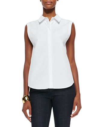 Fisher Project Organic Cotton Sleeveless Shirt