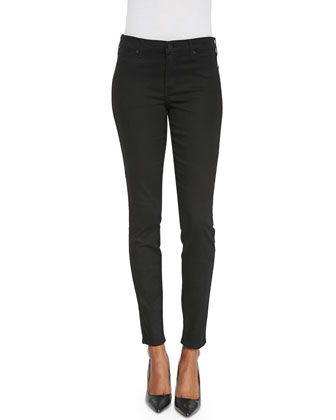 Joy High-Rise Legging Jeans, Black
