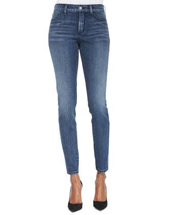 Ami Super Skinny High-Rise Jeans, Rutland