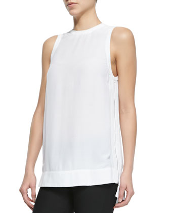 Axio Top with High-Low Hem