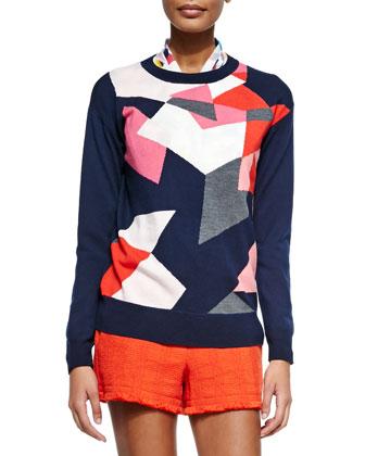 Sumi Graphic Crewneck Sweater