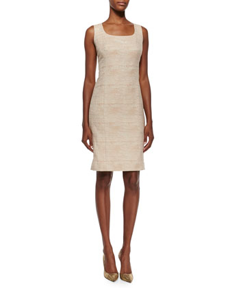 Darol Sleeveless Sheath Dress