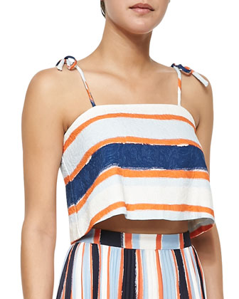 Nelly Tie-Strap Crop Top