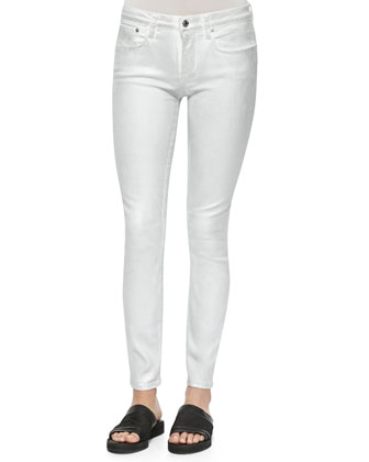 Emulsion Foiled Denim Skinny Jeans