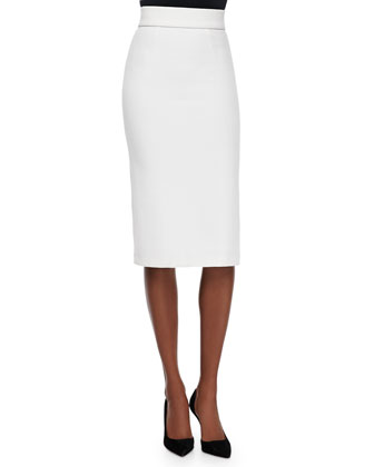 Arie Twist-Back Crop Top & Bobbi Midi Pencil Skirt