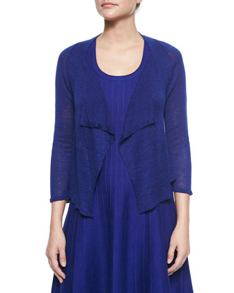 4-Way Drifting Cardigan & Twirl Sleeveless Knit Dress
