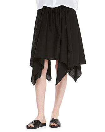 Grand Slam Skirt with Handkerchief Hem