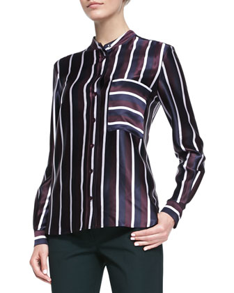 Lance Collegiate-Stripe Blouse