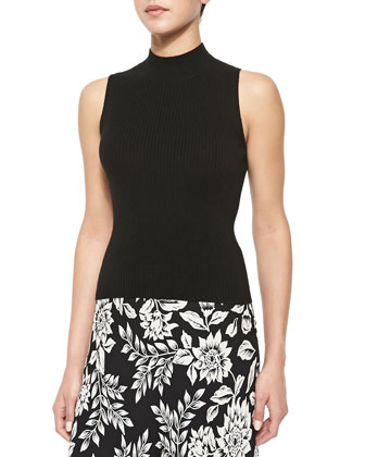 Cashmere Everleen Ribbed Sleeveless Top