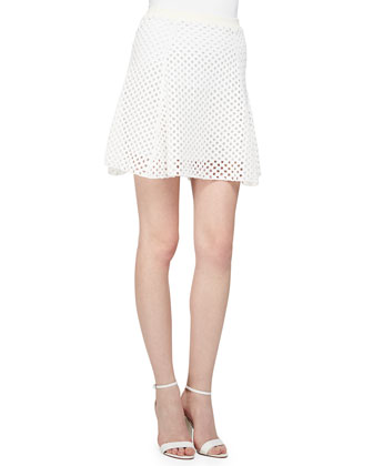 Krezia Netted Long-Sleeve Top, Fliore Jersey Tank Top & Rortie B Netted ...