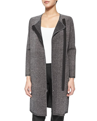 Lioralee Long Tweedy Coat