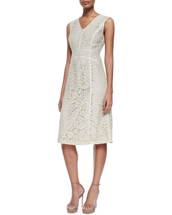 Essie Sleeveless Lace Dress
